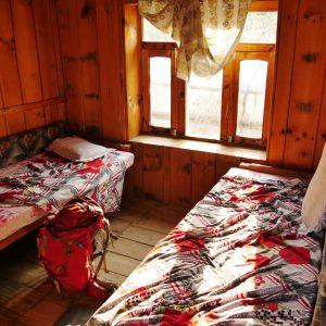 das Zimmer gibt es meist umsonst wenn man auch in dem Hotel isst (Thanchowk 2570Hm)