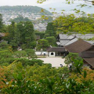 Kyoto, der Silberne Tempel mit wunderbaren japanischen Garten